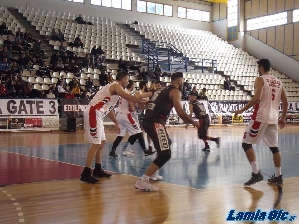 Έσπερος Λαμίας - Φαίακας Κέρκυρας 69-63