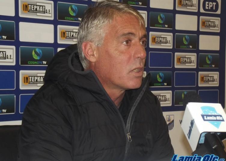 ΔΗΛΩΣΕΙΣ ΠΑΣ Λαμία - Παναθηναϊκός 1-0