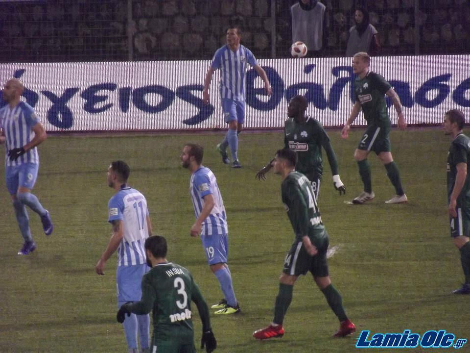 ΦΩΤΟΓΡΑΦΙΕΣ ΠΑΣ Λαμία - Παναθηναϊκός 1-0