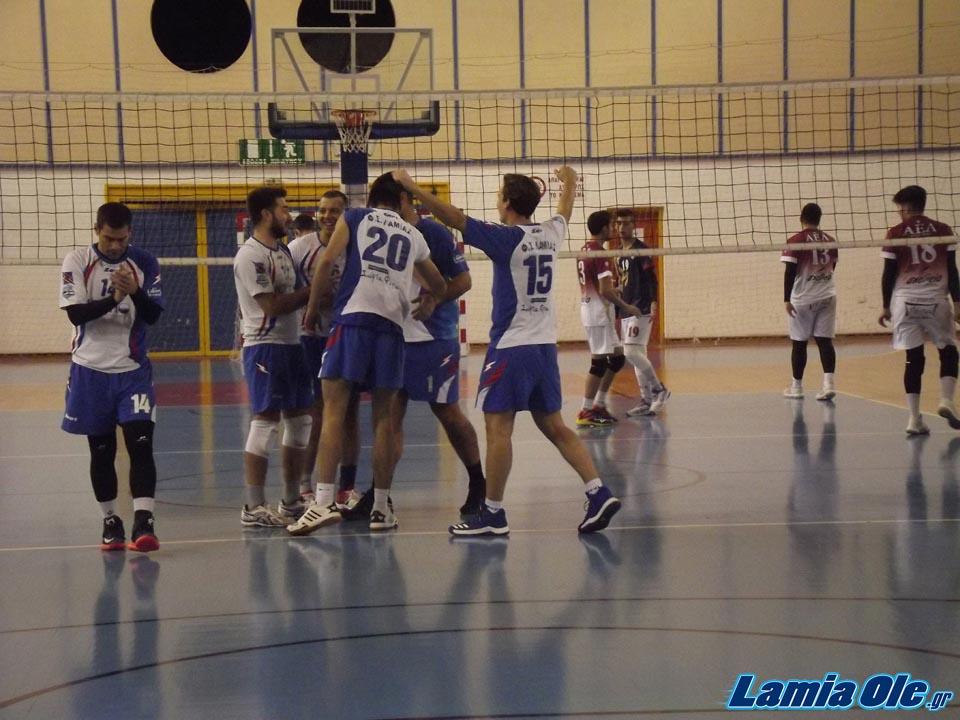 ΑΕ Λάρισα - Φιλαθλητικός Λαμίας 3-0