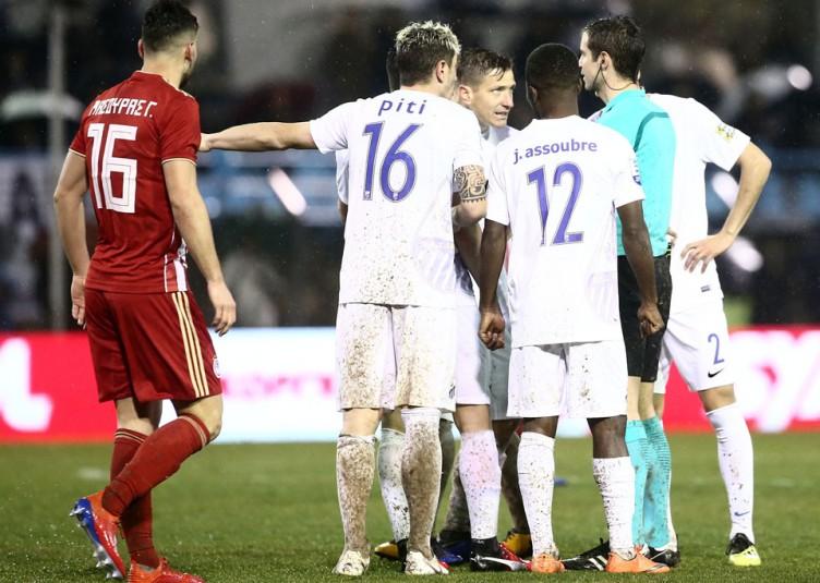 ΠΑΣ Λαμία - Ολυμπιακός 3-3