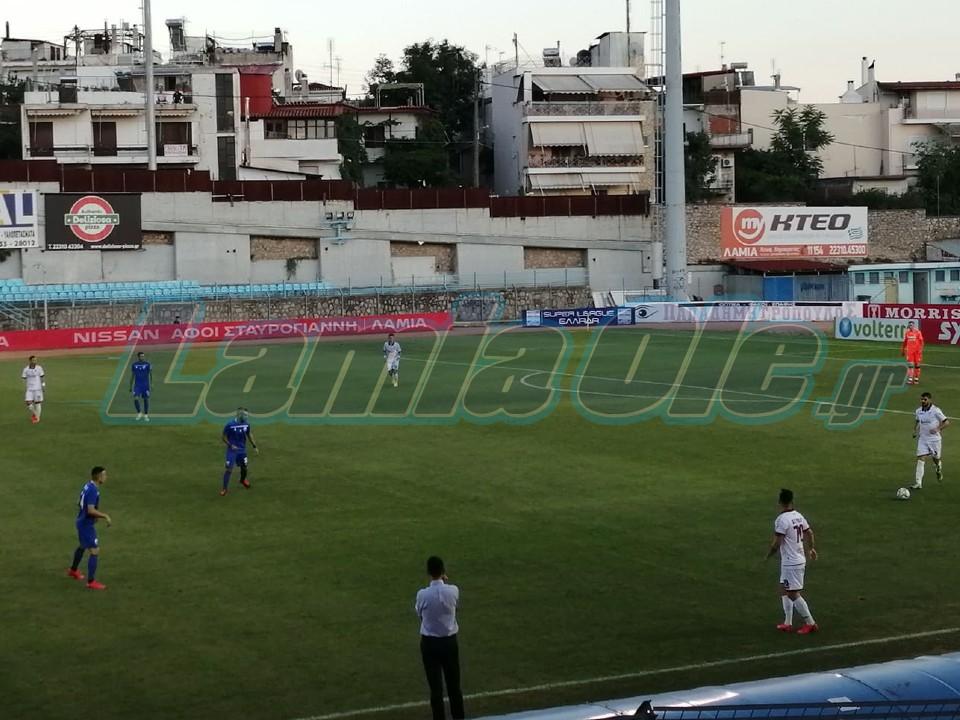 Λαμία - ΑΕΛ 0-0